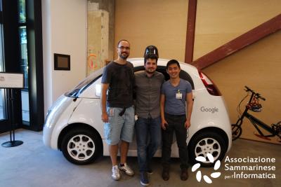 Team Work tech talk google robotics computer vision