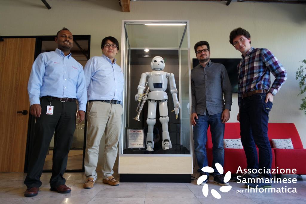 divisione di robotica di Toyota machine learning
